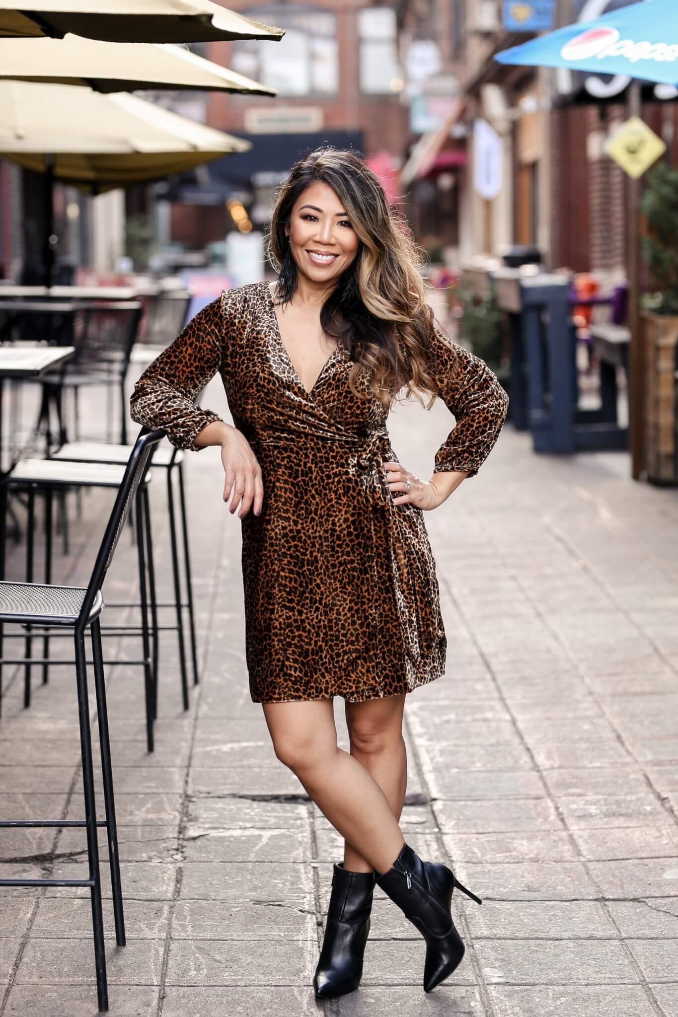 fall lookbook, fall fashion, fall trends, fall style, velvet dress, animal print dress, leopard dress