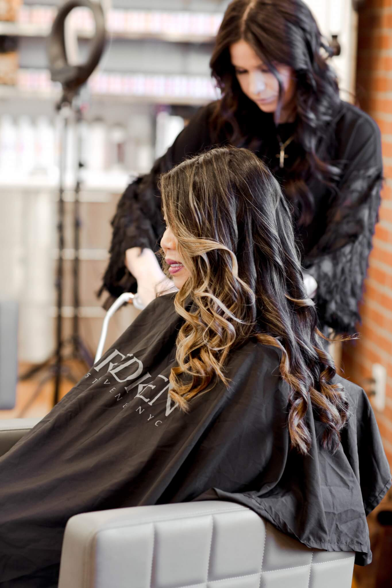How To Curl Hair Using A Flat Iron Pre Dupre